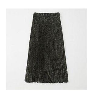NWT Abercrombie pleated midi skirt